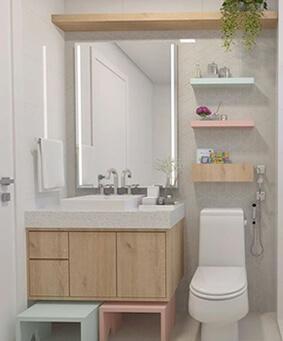 Balcão de Banheiro Planejado